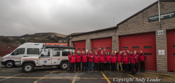 Join the Holme Valley Mountain Rescue Team