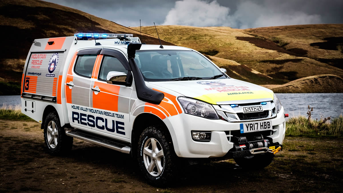 The Holme Valley Mountain Rescue Team Takes Delivery Of A